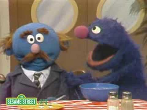 Sesame Street: Grover And A Fly In My Soup
