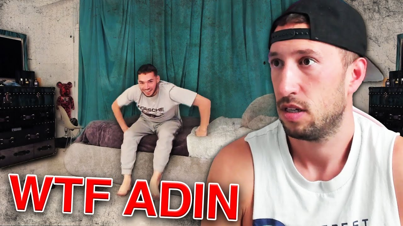 WHAT IS ADIN ROSS DOING WITH HIS ROOM?
