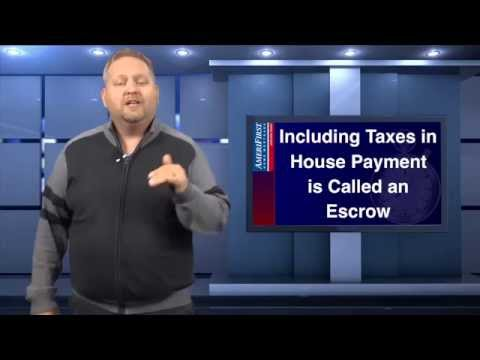 First Time Home Buyers: Escrow or Pay Taxes Yourself? l 60 Second Mortgage Tip