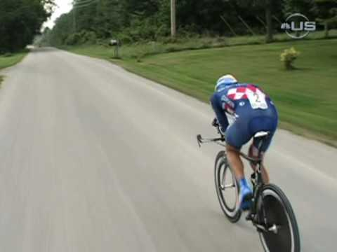 Zabriskie takes time trial and GC lead  from Universal Spor