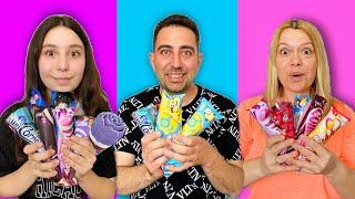 Tek Renk Dondurma Challenge  Biltekin Ailesi