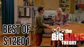 The Big Bang theory season 12 episode 1 best moments | s12e01 funny scene