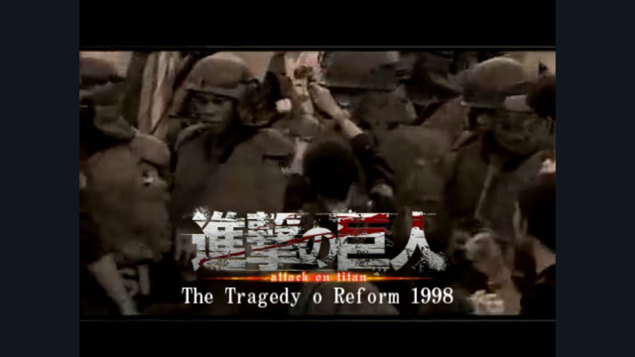 The Tragedy of Reform 1998 Indonesia in Attack on Titan Opening
