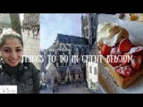 Things To Do In Ghent Belgium   Ghent Vlog   The Tiny Taster