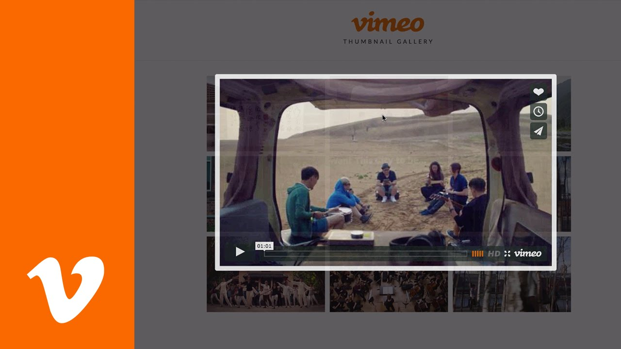 Vimeo Video Gallery in Adobe Muse CC - Widget Tutorial