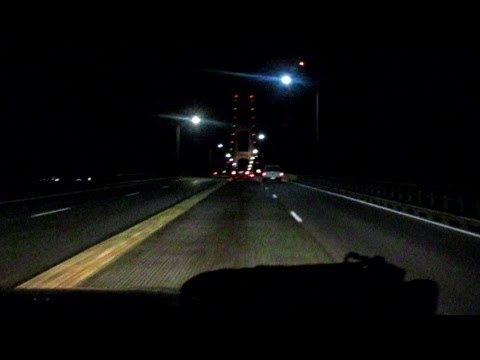 BLOWN OFF THE MACKINAC BRIDGE?