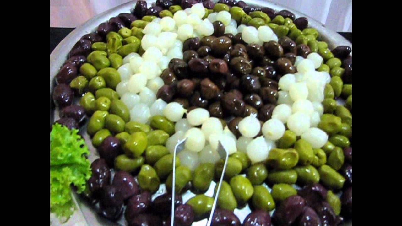 Ja buffet mesa de frios youtube for Canapes para o natal