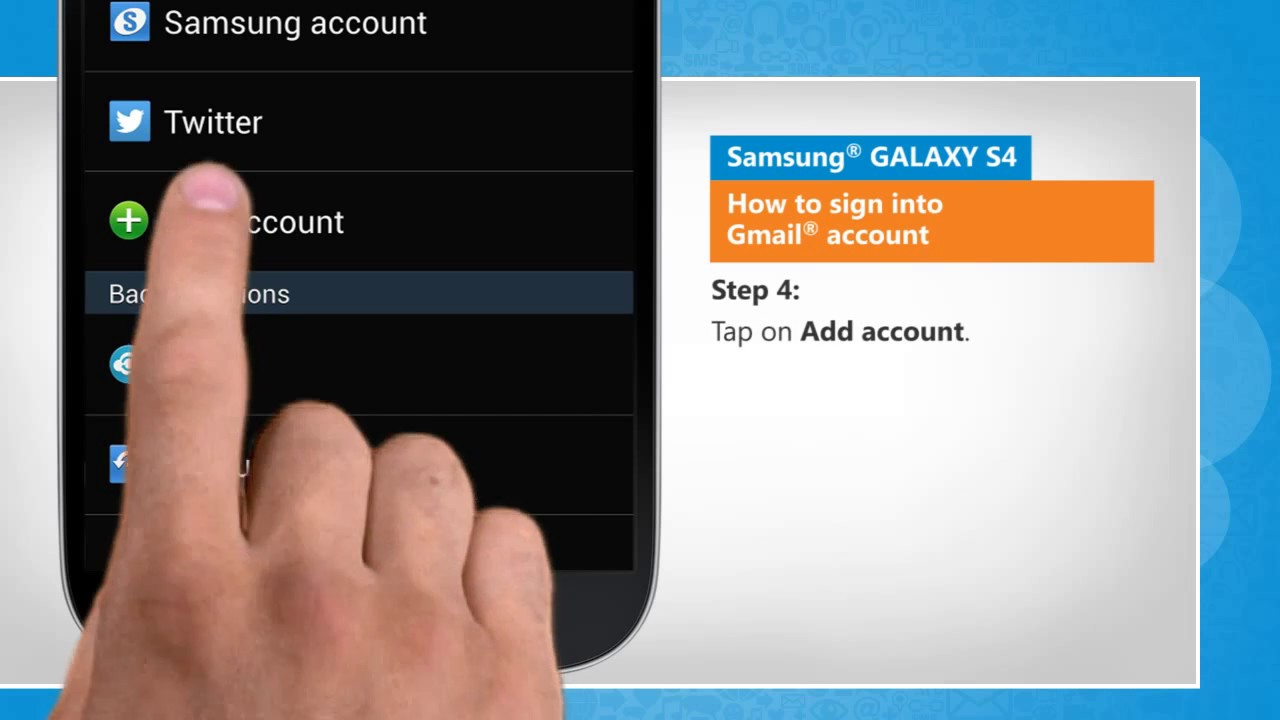 how to delete gmail on samsung