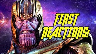 AVENGERS: ENDGAME First Reactions: EPIC!