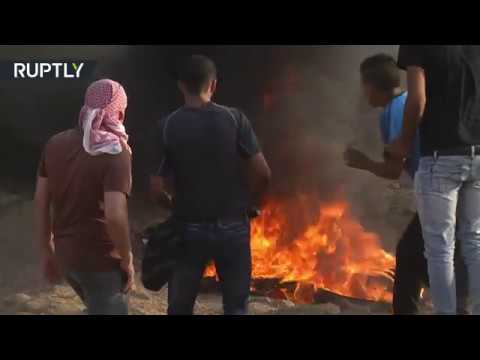 Palestinians resume Great March of Return protests near Gaza border, at least 120 injured