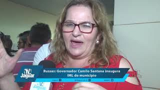 Guida, Dr Paulo e Mauro Filho falam sobre a estrutura do IML em Russas