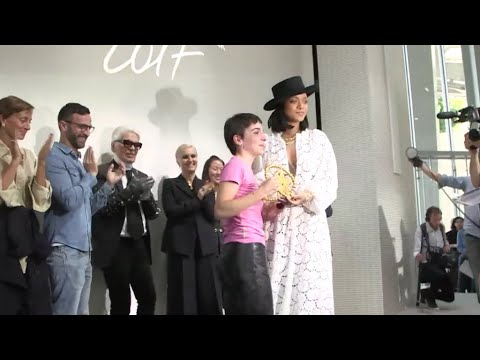 LVMH Prize: la Française Marine Serre consacrée par Rihanna