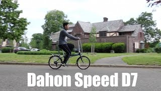 Dahon Speed D7 Folding Bike Review