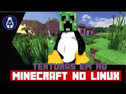 Minecraft no Linux com Texturas HD