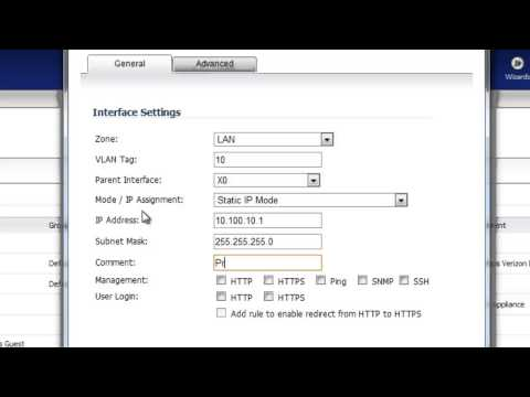 Dell SonicWALL VLAN Setup - YouTube