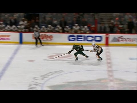 Eric Staal scores easiest goal of career, without touching puck