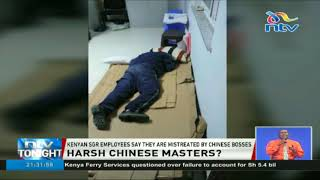 Mistreatment of SGR employees by their Chinese bosses
