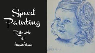 SPEED PAINTING - Ritratto di bambina