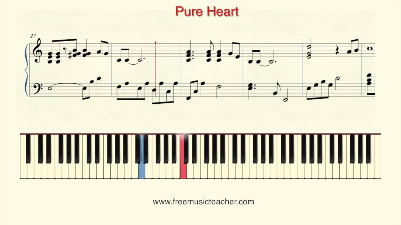 How to play piano pure heart by nubuo uematsu piano tutorial by how to play piano pure heart by nubuo uematsu piano tutorial by ramin yousefi hexwebz Images