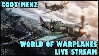 World of Warplanes Live Stream [English - NA] [Viewer Plane Requests] 01/23/2018