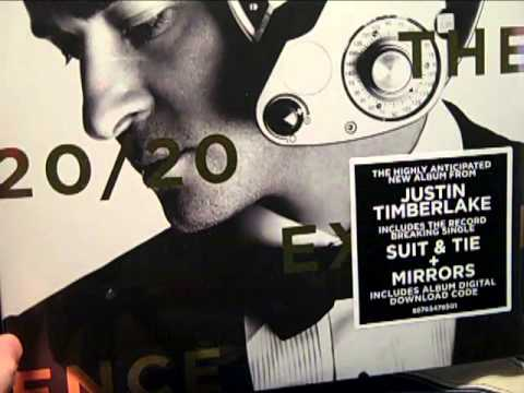 justin timberlake the 20 20 experience vinyl and target deluxe cd unboxing s youtube. Black Bedroom Furniture Sets. Home Design Ideas