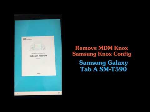Knox Mobile Enrollment Remove