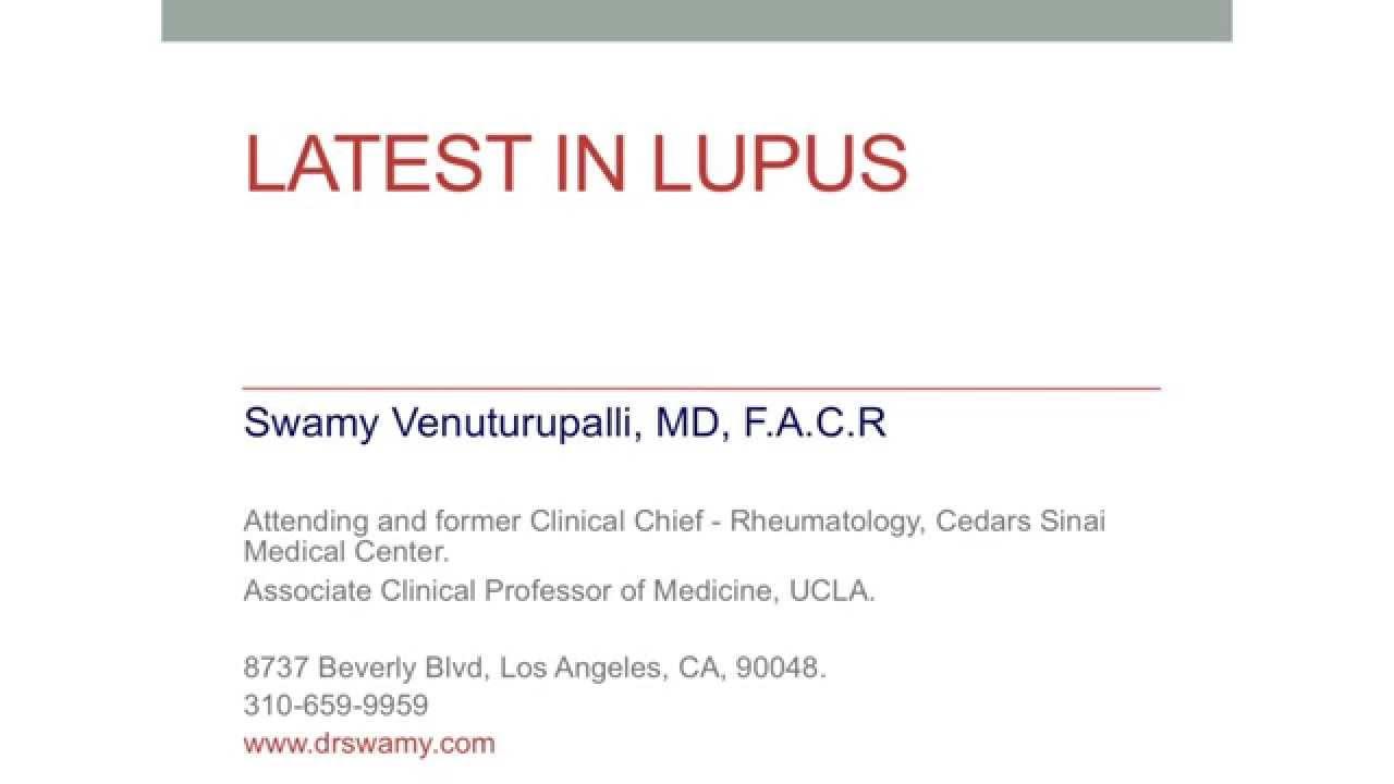 Latest on Lupus