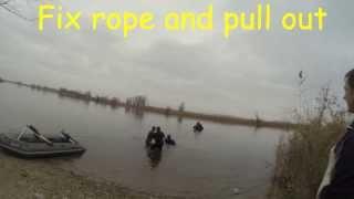 Подъем затопленной лодки Sunken boat rec...