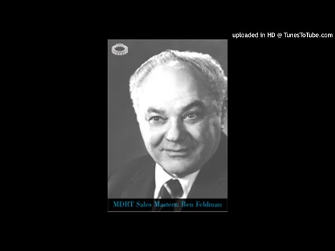 1978 MDRT  An Afternoon With Ben Feldman, CLU  Part 1
