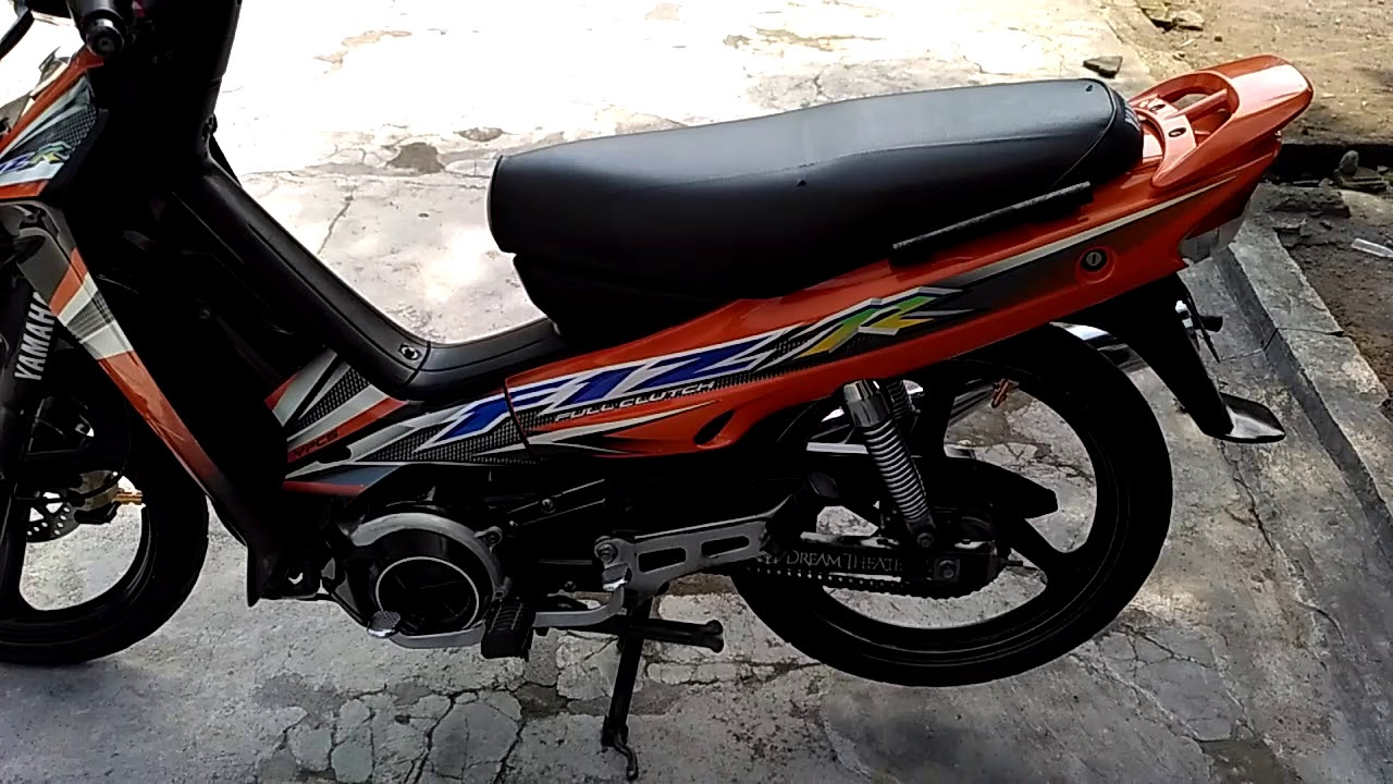 Yamaha Fiz R 2004 Orange Full Original Alami