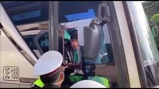 Rekaman Asli Bus Budiman Dilarang Bawa Penumpang Mudik