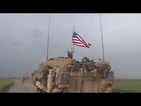 U.S. conducting military exercises in Syria