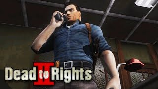 Dead to Rights 2 - Intro & Mission #1 - Blue Fly Night Club