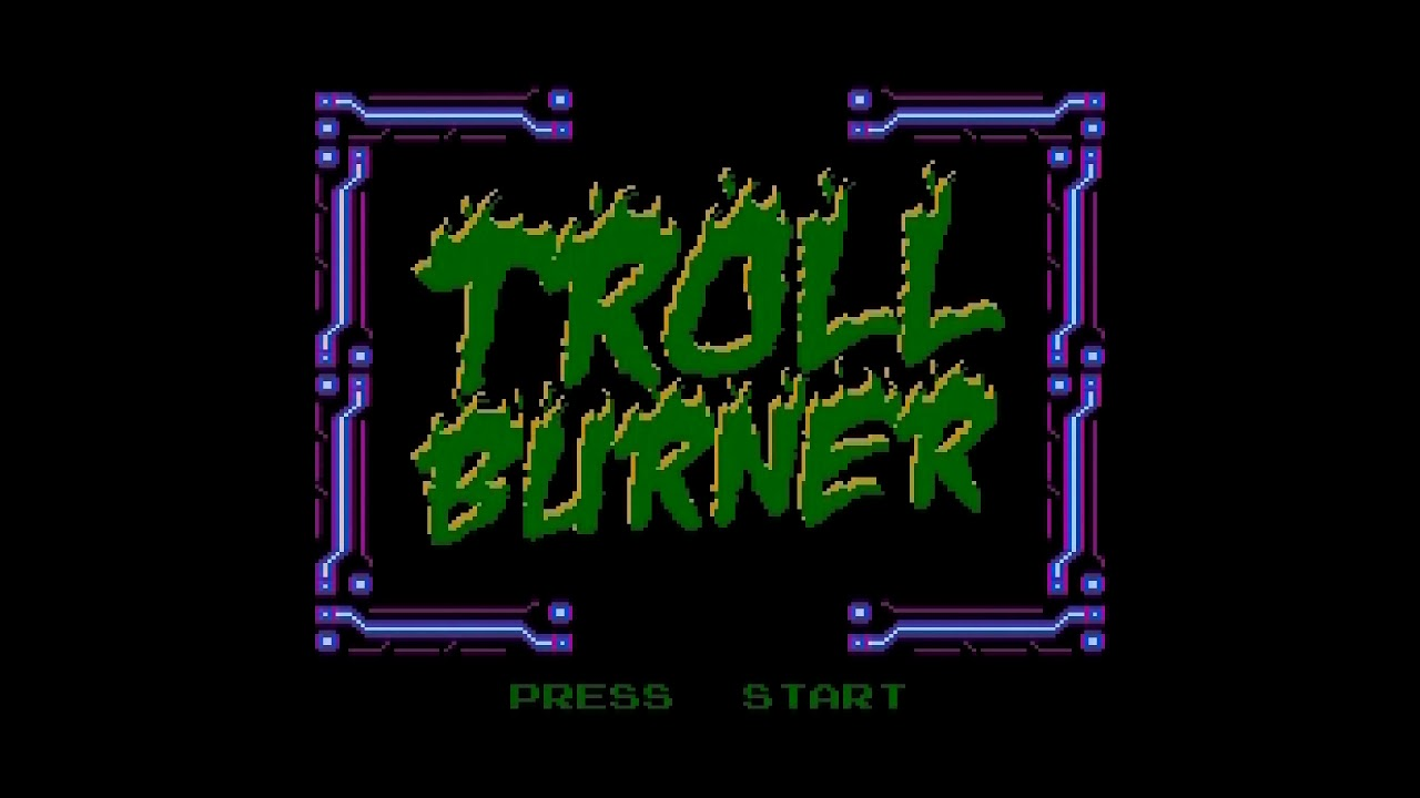 Troll Burner - NESmaker Kickstarter Demo (Real NES Capture)