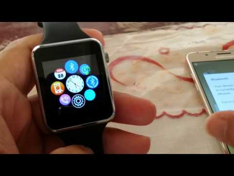 How to pair A1 Smartwatch to Samsung Galaxy J5 Android Phone