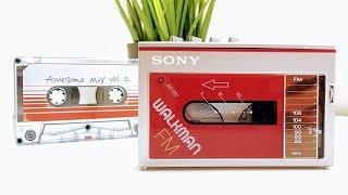Let's Refurb! - 1984 Miniature Walkman!   WM-F10