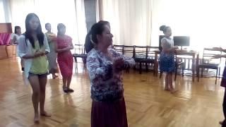 Урок индийского классического танца в стиле катхак