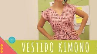 Descomplica! Aprenda a costurar um vestido kimono