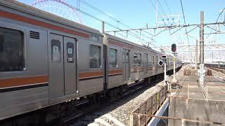 JR武蔵野線205系M7編成葛西臨海公園駅発車