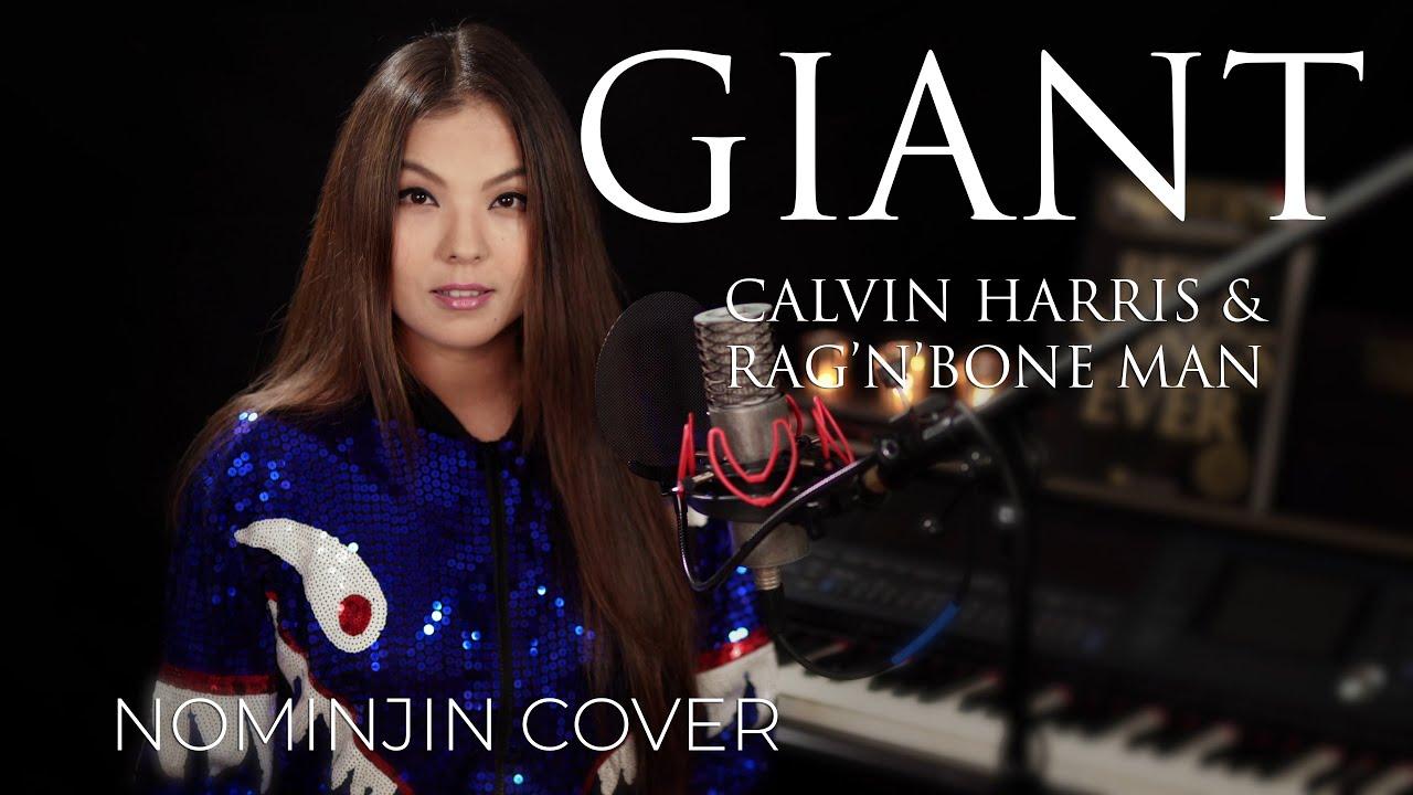 Calvin Harris, Rag'n'Bone Man - Giant ( Nominjin Cover ) Female Lyrics image