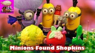 Minions kidnap Shopkins - Part 4 - Shopkins Lord of the Rings Funny Parody