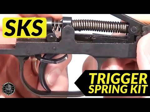 SKS Accessories and SKS Trigger Job to improve Accuracy SKS Trigger Spring Kit