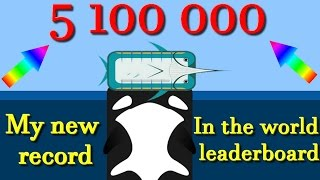 Deeeep.io new animals || 3rd in the world leaderboard || 5 100 000 with the last animal