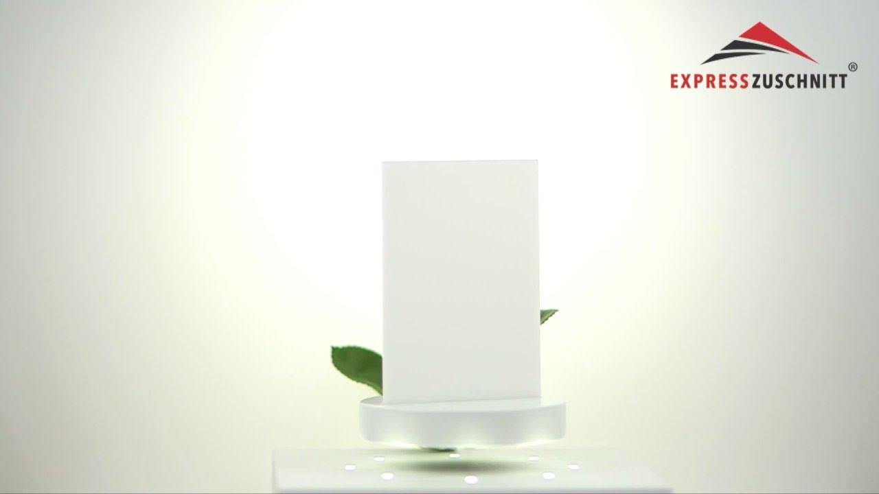 plexiglas milchglas platte wei opal lichtdurchl ssig 30. Black Bedroom Furniture Sets. Home Design Ideas