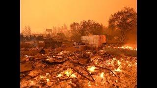 Сильнейшие пожары в Калифорнии: к тушению огня привлекли даже заключенных
