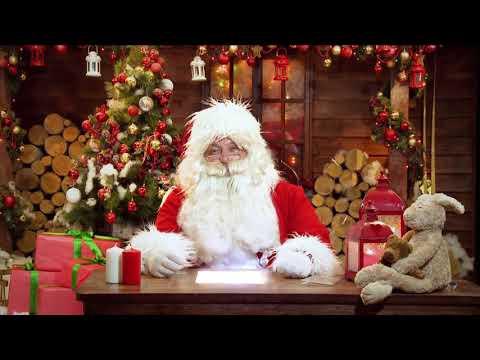 Дед мороз поздравляет Милану с новым годом ❤