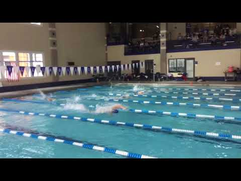 Mixed 200 Free Relay B - Illinois College Dual Meet