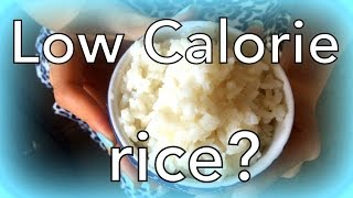 One weird trick to cut rice calories by 50%