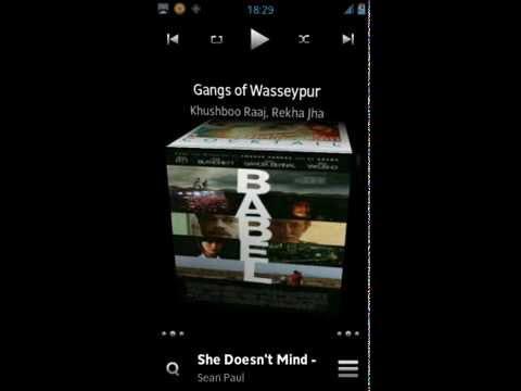 3 Cubed Music Widget