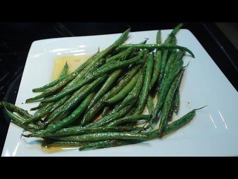 Fresh Green Beans less than 5 Minutes